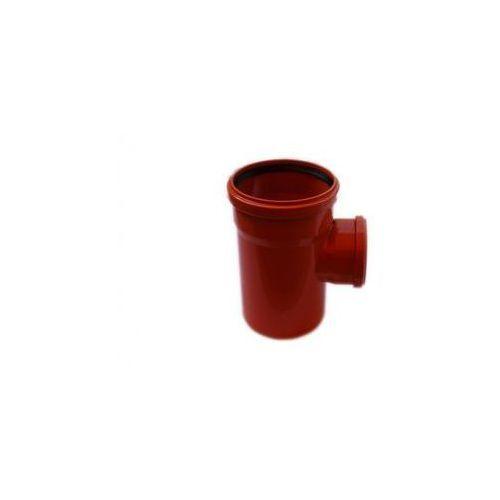 Trójnik kanalizacji zewnętrznej kz 160 x 110 / 90° marki Poliplast