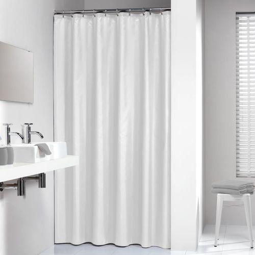 Sealskin Madeira biała zasłona prysznicowa tekstylna 180x200cm 238501310 (8711131236375)