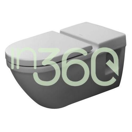 Duravit Starck 3 Miska WC wisząca Vital 36x70 biała dla niepełnosprawnych 2203090000