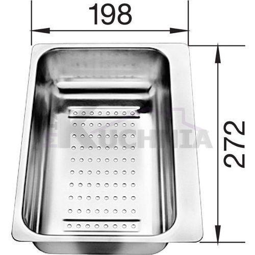 Odsączarka BLANCO ze stali szlachetnej 280x198x72mm (217796), 217796
