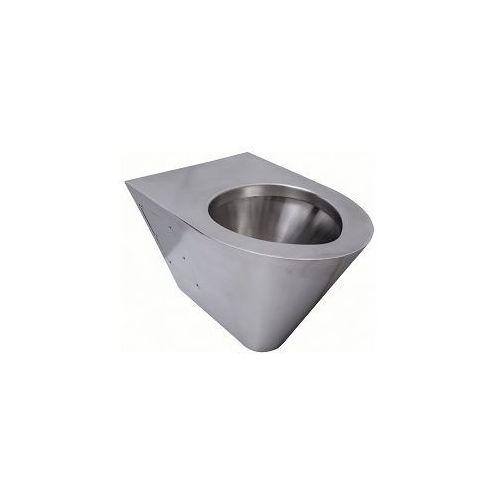 Miska WC ze stali nierdzewnejj