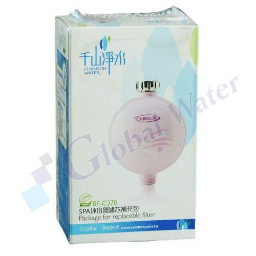 Global water Spa shower filter - złoże wymienne
