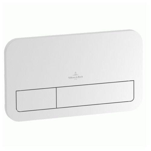 przycisk spłukujący szkło białe błyszczące glossy white viconnect 922400re marki Villeroy&boch