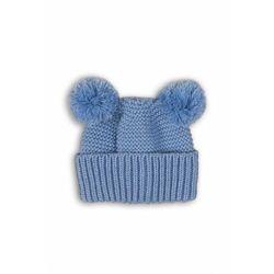 Czapka niemowlęca niebieska 5X39A4