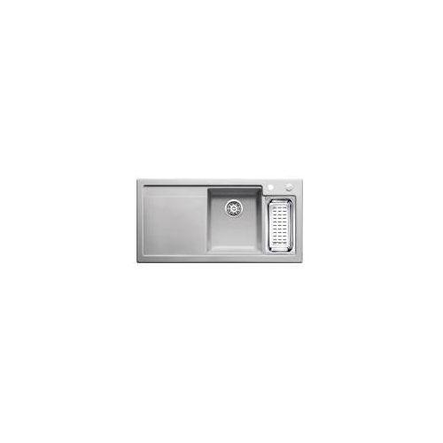 Blanco Axon 6s ii ceramika puraplus zlewozmywak + deska do krojenia 510x1000 prawy szarość aluminium – 516548