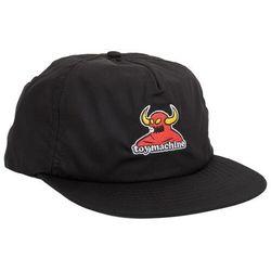 czapka z daszkiem TOY MACHINE - Tm Monster Unstructured Cap Black (BLACK) rozmiar: OS