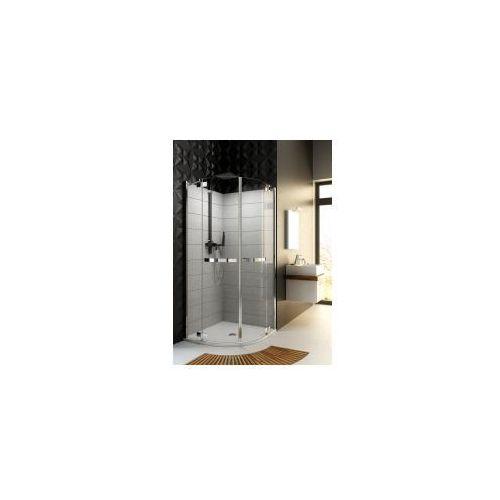 Aquaform Aquaform hd collection kabina prysznicowa półokrągła 90 cm z szybami ze szkła bezpiecznego 100-09370 90 x 90 (100-09370)