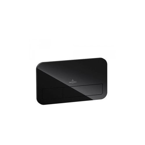 Villeroy & Boch ViConnect Przycisk do WC czarny 921843RB