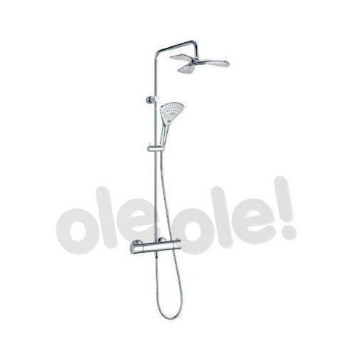 fizz dual shower system z termostatem 6709605-00 marki Kludi