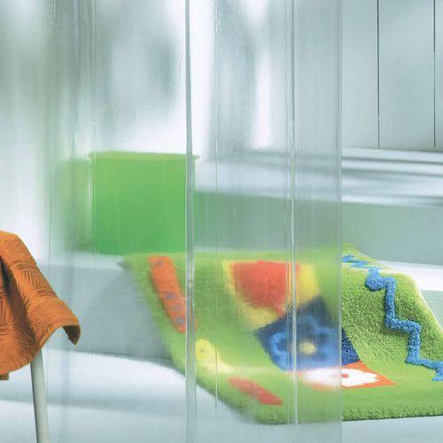 Zasłona prysznicowa vinylowa Clear, 210041300