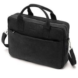 Duża skórzana torba na ramię vintage bl12 marki Brodrene