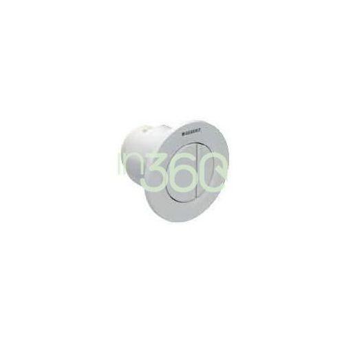 Geberit HyTouch pneumatyczny przycisk uruchamiający WC Typ 01, ręczny, podtynkowy, dwudzielny, biały 116.042.11.1
