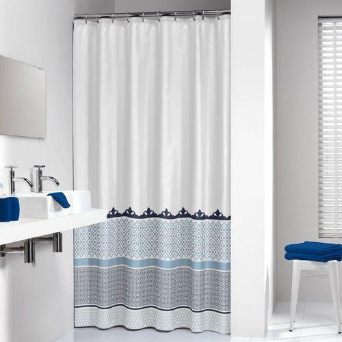 Zasłona prysznicowa tekstylna Marrakech