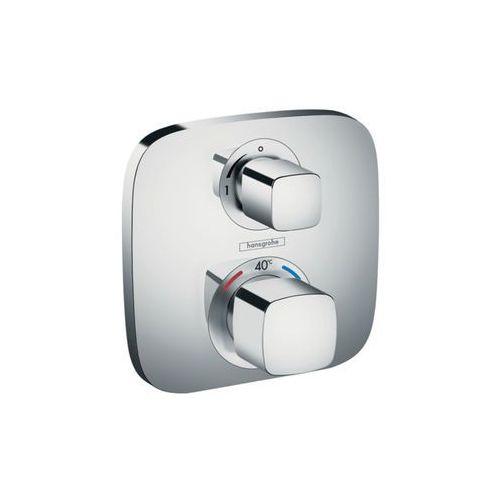 bateria termostatyczna podtynkowa ecostat e z zaworem odcinającym element zewnętrzny 15707000 marki Hansgrohe