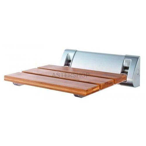 Siedzisko prysznicowe 32x23cm, bambusowe AE236, AE236