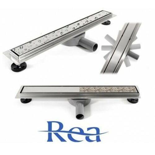 Neo&pure n pro odpływ liniowy 90cm z obrotowym syfonem, ruszt dwustronny marki Rea
