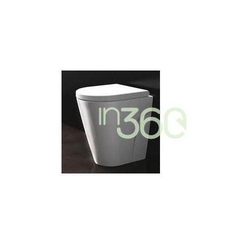 Catalano Zero miska Wc stojąca 45x35 +śruby mocujące (Z3440) biała 1VP4500