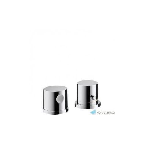 Hansgrohe axor uno 2 element zewnętrzny do baterii termostatowej 2-otworowej do montażu na brzegu wa