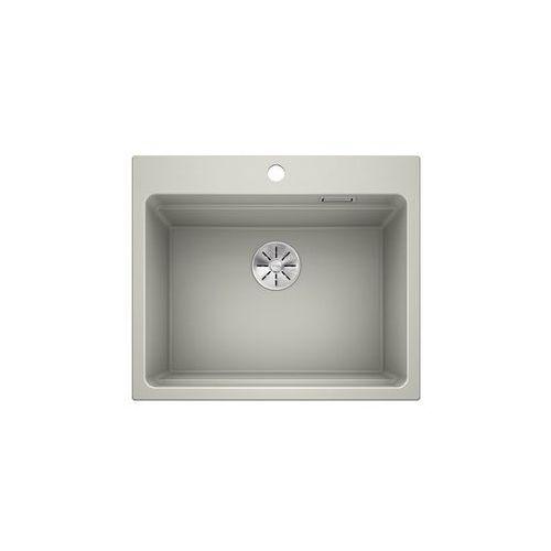 Blanco etagon 6 silgranit puradur perłowoszary, infino, szyny - perłowoszary \ manualny