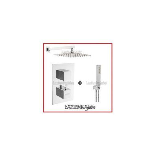 Podtynkowy zestaw prysznicowy z baterią termostatyczną Inea C2ST2, chrom ZEST93, ZEST93