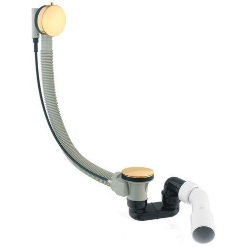 Omnires syfon wannowy automatyczny złoty PVD TK104-PLUS-3.12 + 64-S