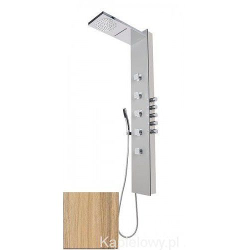 SOUL 200 Panel prysznicowy z termostatatem, kokos 78782 (8590729066545)