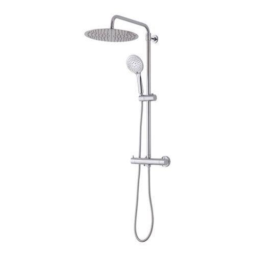 Kolumna prysznicowa Cooke&Lewis Solani śr. 30 cm 3-funkcyjna z baterią termostatyczną, SH4012