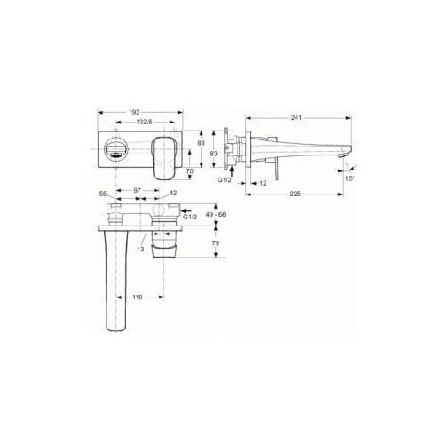 Bateria Ideal Standard Tonic A6335AA