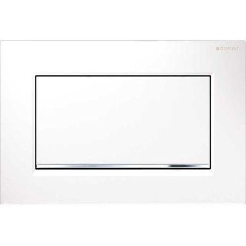 sigma30 1m przycisk uruchamiający przedni biały/chrom błyszczący/biały 115.893.kj.1 marki Geberit