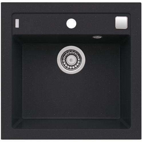 Zlewozmywak ALVEUS Formic 20 kol. 91 Czarny, kolor czarny