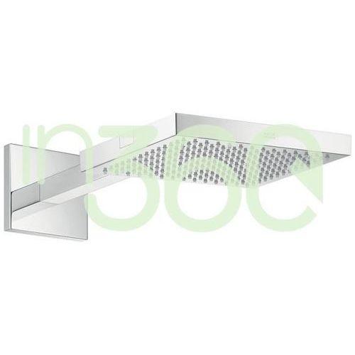 Axor starck showercollection deszczownica prysznicowa 240 x 240 mm z ramieniem prysznicowym dn15 chrom 10925000