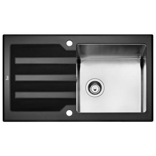 Zlew TEKA LUX 1B 1D 86 BLACK (12129008) - produkt z kategorii- Zlewozmywaki