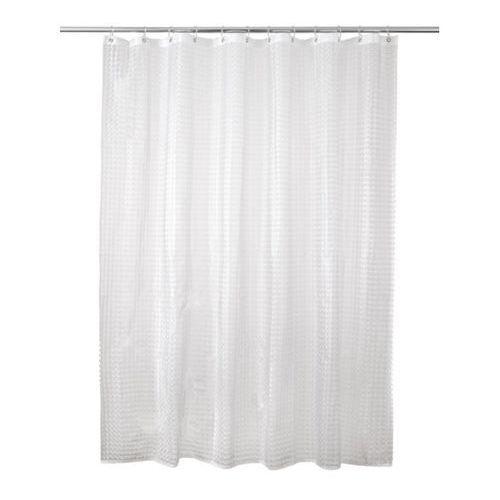 Cooke&lewis Zasłonka prysznicowa  lacha 180 x 200 cm transparentna (3663602965947)