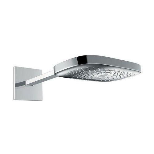 Hansgrohe głowica prysznicowa, 3 strumienie, z ramieniem prysznicowym 390 mm, kolor chrom/biały raindance select 26468400