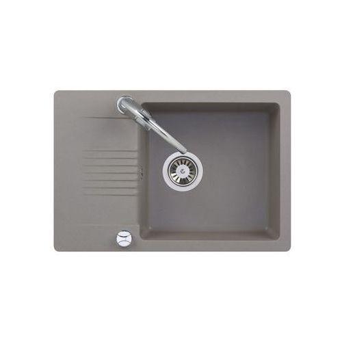 Kuchinox Zlewozmywak granitowy z baterią fiord s25a511t