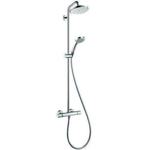 HANSGROHE CROMA 220 Zestaw prysznicowy-termostatyczny, chrom 27185000, 27185000