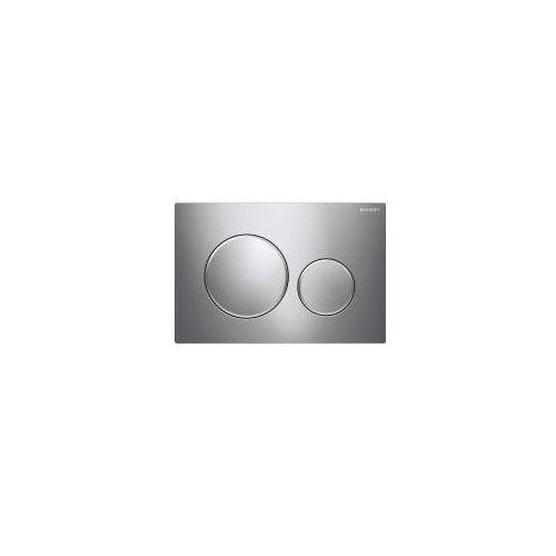 Geberit sigma20 przycisk uruchamiający chrom błyszczący/chrom matowy/chrom błyszczący 115.882.kh.1