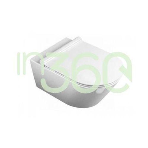 zero miska wc wisząca newflush 35x55 +śruby mocujące (5kfst00) biała 1vs55nr00 marki Catalano