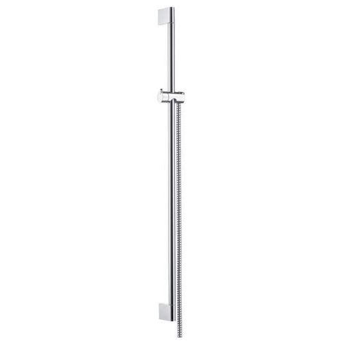HANSGROHE Unica' Crometta Drążek prysznicowy 0,90 m, z wężem prysznicowym Metaflex 1,60 m DN15 27, 27614000
