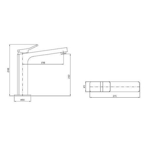Bateria Zucchetti Soft ZP7289