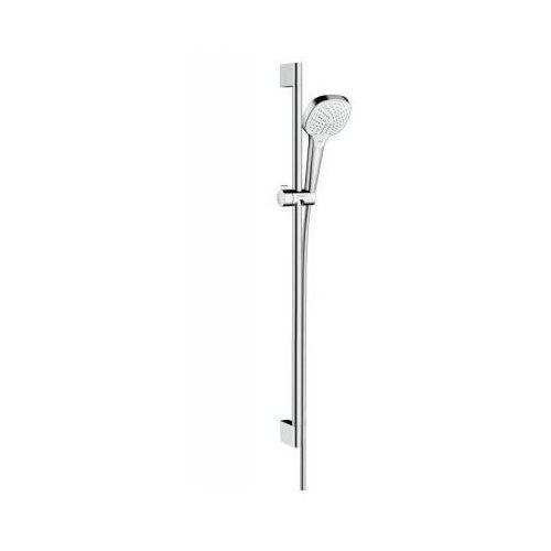 zestaw prysznicowy croma select e vario chrom/biały 26592400 marki Hansgrohe