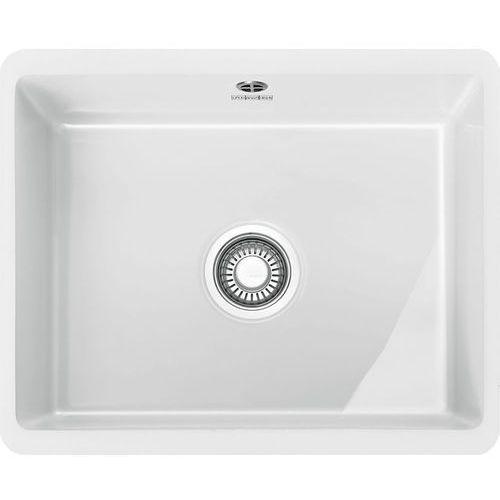 Zlewozmywak ceramiczny FRANKE Kubus KBK 110-50 biały polarny Fraceram (126.0380.001) (7612981621063)