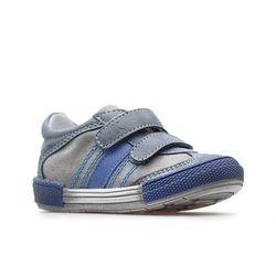 Półbuty chłopięce Kornecki 04881 Niebieski, kolor niebieski