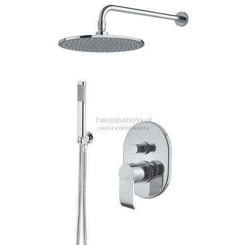 Armando vicario stile kompletny zestaw prysznicowy deszczownica słuchawka stilezes20