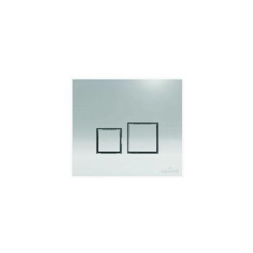 przycisk target square chrom błyszczący k97-330 marki Cersanit