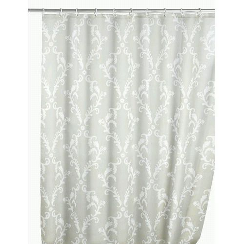 Zasłona prysznicowa Baroque, tekstylna, 180x200 cm, WENKO (4008838120590)