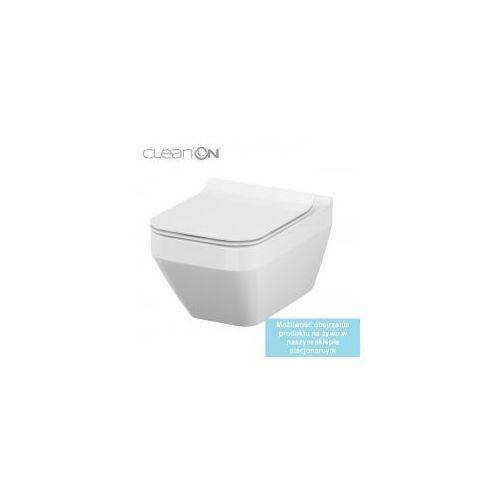 CERSANIT CREA Miska WC Clean On (prostokątna) + deska wolnoopadająca S701-213, S701-213