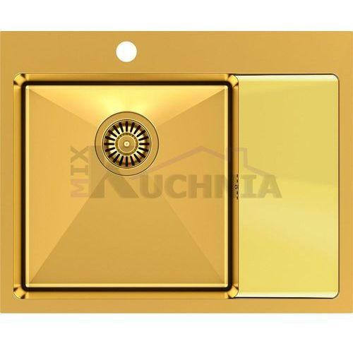 zlewozmywak russel 116 złoty (hb7911pvdbsg1) marki Quadron