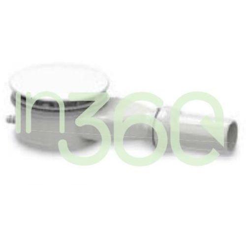 Kaldewei Syfon brodzikowy Mod. 4096, emaliowana pokrywa odpływu Biały 689710600001