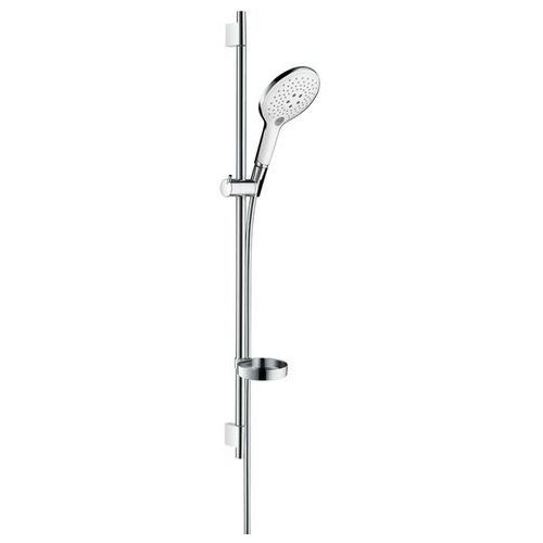 Hansgrohe zestaw prysznicowy Raindance Select S 150 3jet/Unica'S Puro 90 cm chrom/biały 27803400
